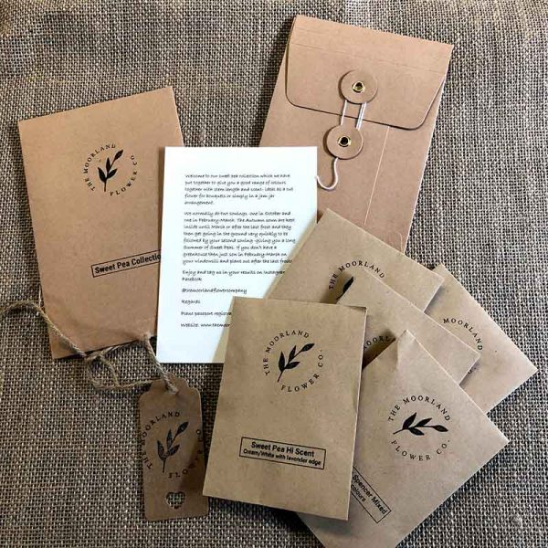 Compostable seed packaging